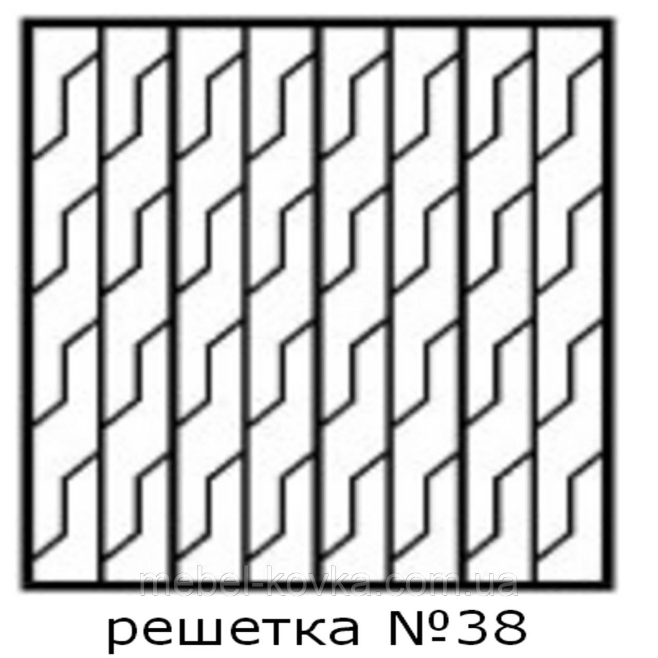 Кованая решетка 38