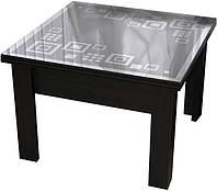 Дельта стол-трансформер Матролюкс 800х800 / 800х1600 мм с декоративной столешницей, фото 1