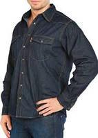 Джинсовая рубашка MONTANA 12190 RW  темно-синяя