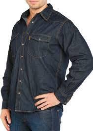 Джинсова сорочка MONTANA 12190 RW темно-синя