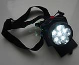 Фонарь налобный светодиодный Bailong XY 2010, фото 2