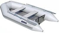 Моторная лодка с надувным настилом Бриг D285W