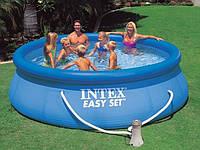 Надувной бассейн 366х91см с фильтрующим насосом Intex 56932