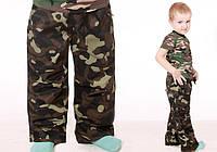 Камуфляжные штаны для мальчика (р.86-134), фото 1