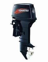 Двухтактный лодочный мотор Tohatsu M40DS(бензомотор для лодки, навесной бензомотор)