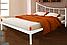 Кровать металлическая Калипсо полуторная, фото 2