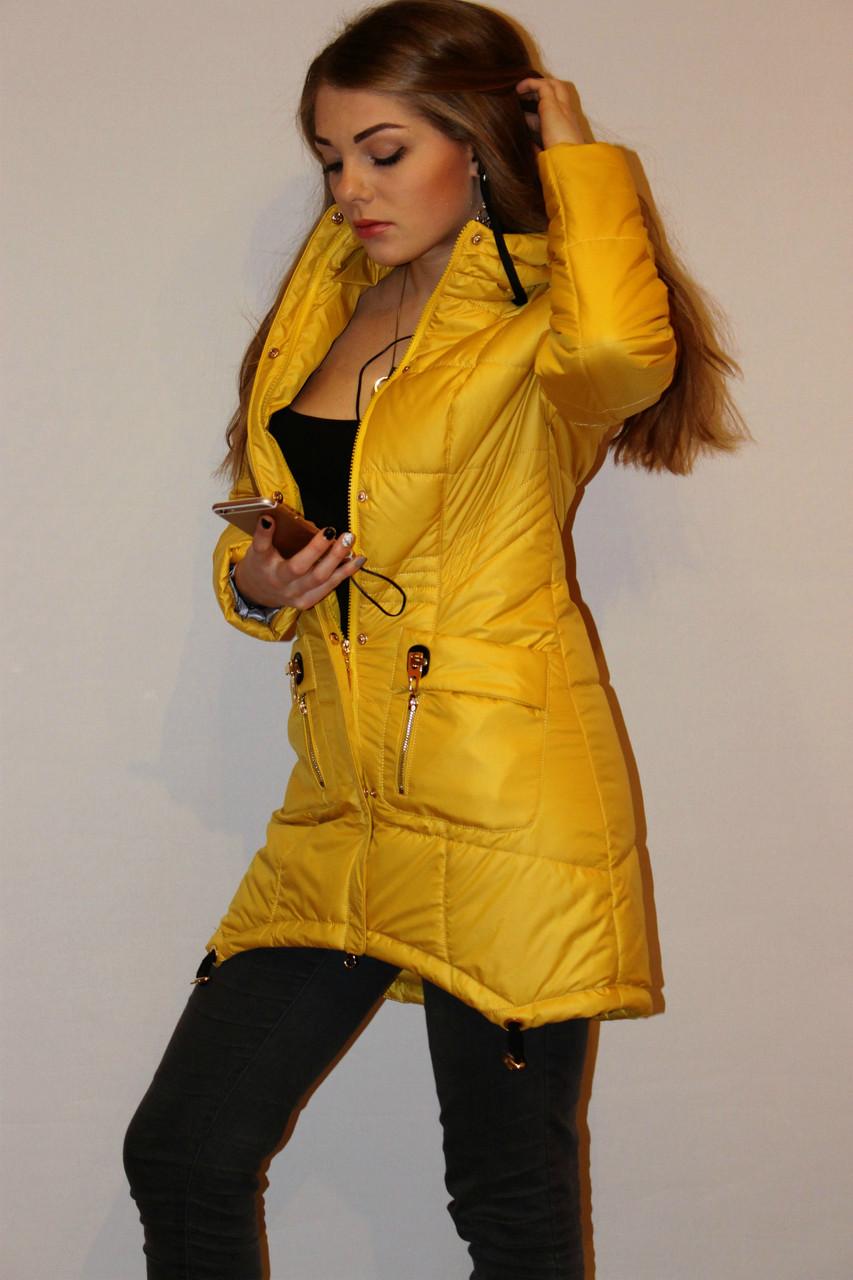 парка куртка женская весенняя фото