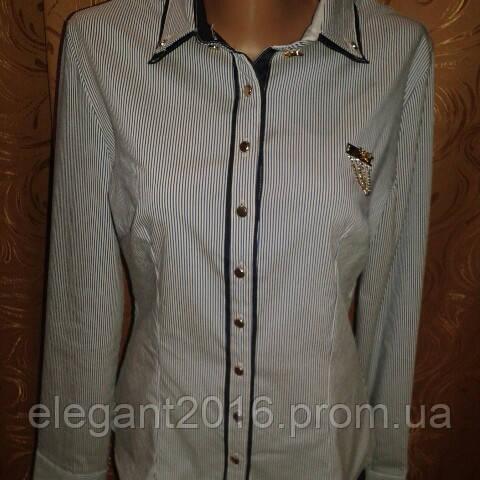 Блузка женская в полоску.