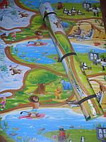 """Детский тёплый коврик """"Мадагаскар 3000х1200х8мм ХXXL """""""