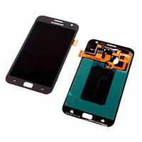 Дисплей (экран) Samsung i8750 Ativ S с сенсором (тачскрином) черный