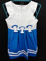 Детские платья летние с бантиками