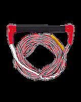 Фал с рукояткой Jobe Ski Combo Transfer Red для водных лыж