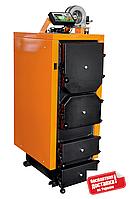 Котел твердотопливный отопительный Донтерм ДТМ Турбо-30Т; 30 кВТ; 300 кв.м.