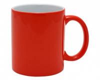 Чашка сублимационная Хамелеон глянцевая Красная