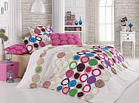Красивое турецкое постельное бельё Benetton Majoli B08