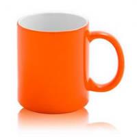 Чашка сублимационная Хамелеон глянцевая Оранжевая