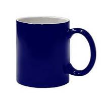 Чашка сублимационная Хамелеон глянцевая Синяя