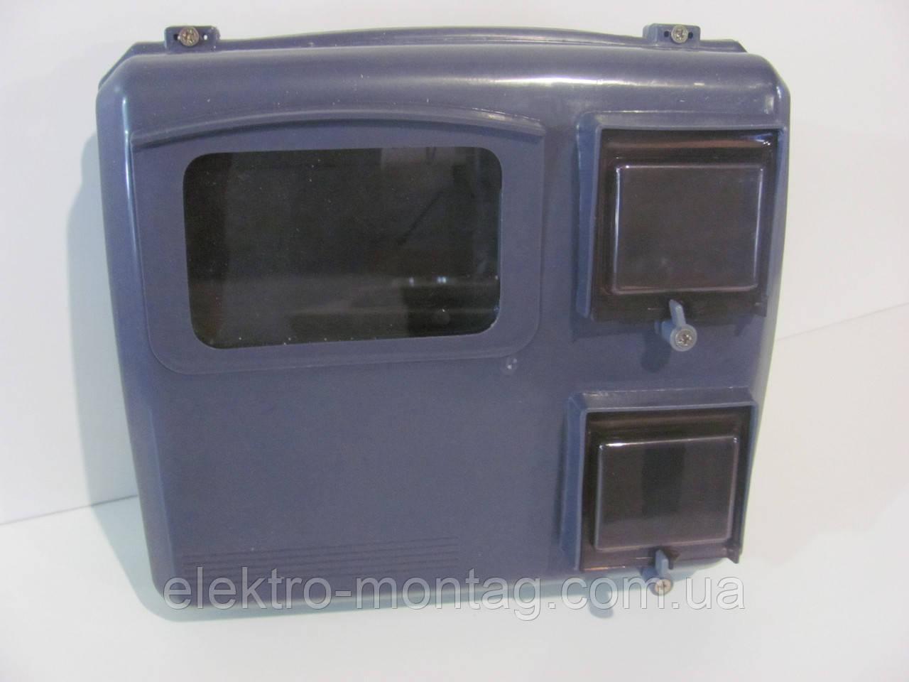 Бокс для электросчетчика и автоматов   уличный КДЕ-3 Димбор