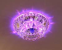 Точечный светильник Feron JD125 LED с подсветкой RGB