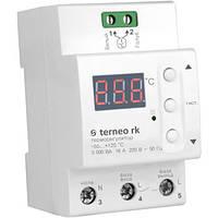 Цифровой терморегулятор для электрических котлов terneo rk