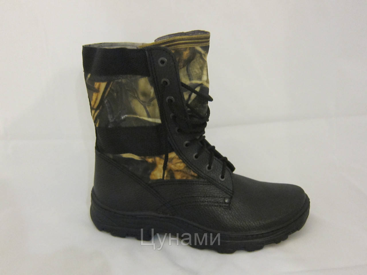 2ec1b3f8721c Берцы на шнурке (армейские берцы, военная обувь, кожаные берцы ...