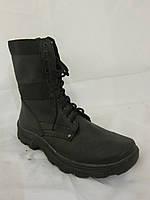 Берцы кожаные военные (армейская обувь)