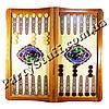 Нарды и шахматы деревянные, размер 62х32 см