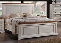"""Кровать 1,6 """"Калифорния"""" (античный белый)код 39468"""