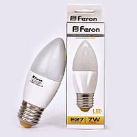 Светодиодная лампа Feron LB-97 7W E27/E14 2700К (Теплый белый свет)