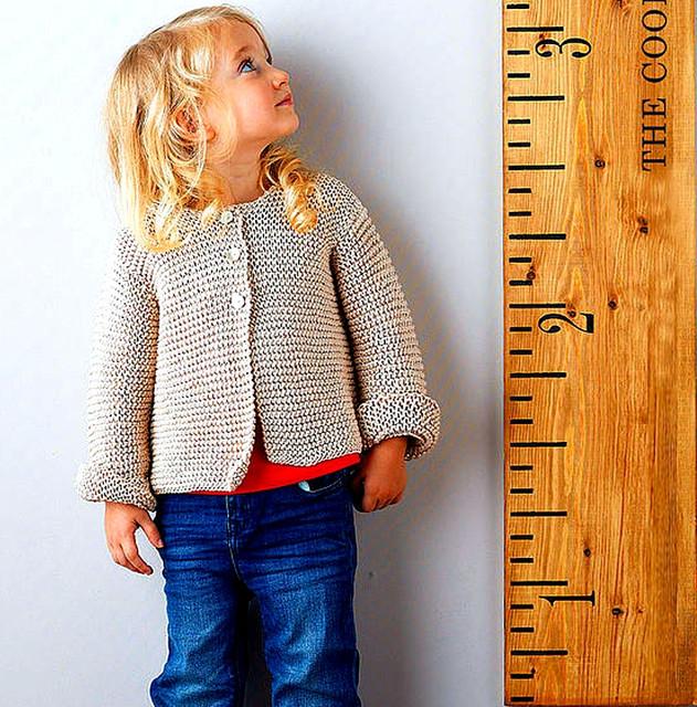 Размерная сетка детской одежды