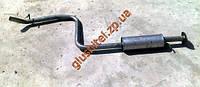 Резонатор ДЭУ Нубира (Daewoo Nubira) (05.37) II 1.6-16V DOHC  06/99-01 Польша Polmostrow алюминизированный