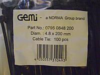 Хомут стяжка 4.8-200 мм NORMA, Германия, нейлон, в упаковке 100 шт
