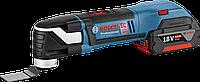 Резак универсальный Bosch GOP 18 V-EC аккумуляторный 06018B0001, фото 1