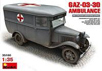 Автобус ГАЗ-03-30 Санитарный 1\35 MiniART
