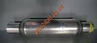 Стронгер (пламегаситель) в корпусе катализатора круглый 50х400 AWG