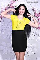 Платье с воланом  р.44-50, фото 1