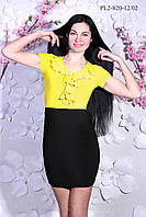 Платье с воланом  р.44-50