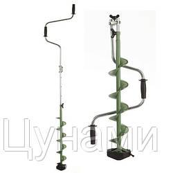 "Ледобур Mora Expert-Pro Series 150mm/6"" Foldable Green"
