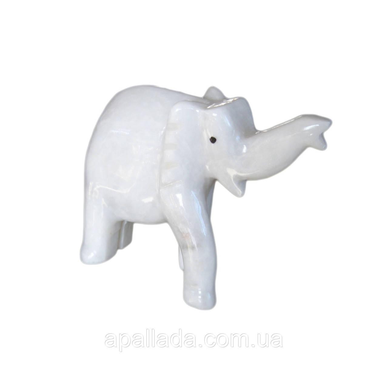 """Статуэтка """"Слон"""" оникс 15.см."""