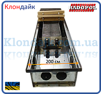 Внутрипольный конвектор Radopol KV 8 200*1000