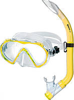 Набор Mares ALIZE JR (маска + трубка) для дайвинга (желтый)