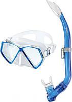 Набор  ZEPHIR JR (маска + трубка) для подводного плавания (синий)