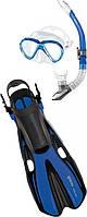 Набор  VOLO ONE MAREA  p.SM 35/38 (маска + трубка) для дайвинга (синий)