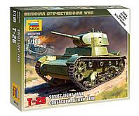 Сборная модель (1:100) Советский легкий танк Т-26