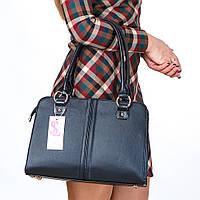 Деловая женская сумка-портфель классика