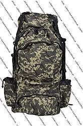 Рюкзак туристический камуфляж 80л