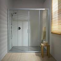 Душевые двери Ravak   BLDP4- 130  Белый  TRANSPARENT