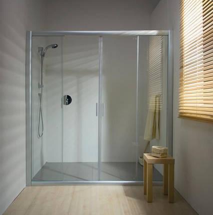 Душевые двери Ravak   BLDP4- 130  Белый  TRANSPARENT, фото 2