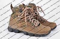 Берцы, ботинки нубуковые (камо: лес)
