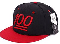 Snapback бейсболка с прямым козырьком 55-62 размер